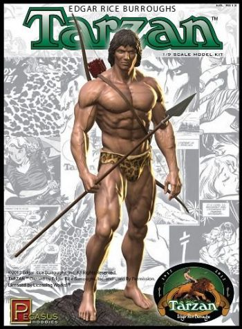Edgar Rice Burroughs Tarzan 1/8 Scale Model Kit